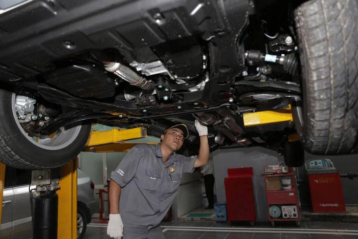 Trung tâm bảo hành bảo dưỡng và sửa chữa ô tô BENTLEY chính hãng